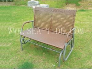 China HC-2020 simple garden patio canopy swing chair on sale