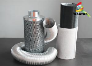 China Aluminium 100mm Hepa Carbon Filter Durable Custom High Efficiency on sale
