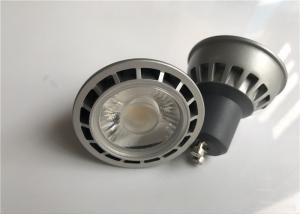 China CREE COB LED GU10 LED Spotlight Bulbs , LED Home Light Bulbs Die Casting Aluminum Housing on sale