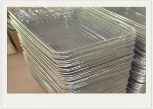 China Put Fruit SS 304 industrial wire baskets SS304 With Welded on sale