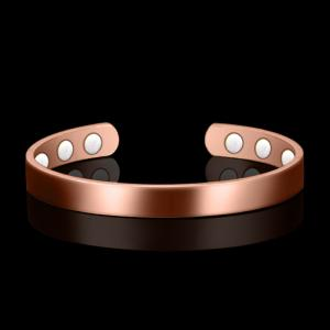 China Wholesale Pure Copper Magnetic Cuff Arthritis Armband Health Bio Men Women bracelet Energy Magnet bracelets on sale