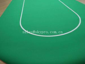 China Custom Foldable Poker Felt Gambling Table Mat Casino Rubber Poker Table Mat on sale