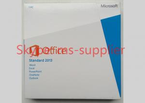 Quality Global Area Computer System Softwares Microsoft Office 2013 Std 32 / 64Bit DVD for sale