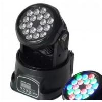 China Disco Led Stage Lighting 18pcs Mini Moving Light 100-240V 50-60HZ on sale