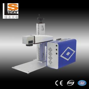 China Stainless Steel Air Cooling Fiber Laser Marking Machine 220V / 50Hz / 5A-10A on sale