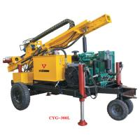China Gold Mining Equipment  Full Pneumatic Crawler Drilling Rig Hydraulic Rotary Geotechical Drilling Rigs on sale