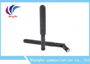 China Dual Band Rubber Duck Antenna SMA Male Connector 2400-2500 / 5150-5850MHz on sale