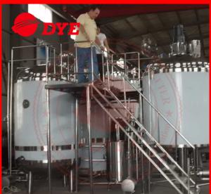 China Pipe Welding Semi-Automatic Beer Brewing Tanks Mirror Polish Inner Surface on sale