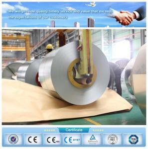 China Le zingage Z120 0.35*1000mm a galvanisé la bobine en acier pour l'usage de construction de bâtiments de C-goujons d'u-goujons on sale