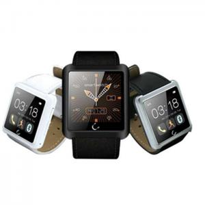 China 2015 New 1.54 inch smart watch shenzhen U10L android 4.4 smart watch heart rate monitor on sale