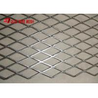 China Stainless Steel Stretched Sheet Decorative Flattened Expanded Mesh AISI304 And AISI316 Standard on sale