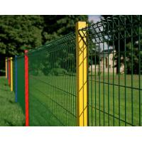 China Electro galvanized Mesh Panel Fencing /  Barrier Fence Mesh , 75 x 75mm on sale