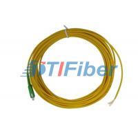 2.0mm 3.0mm Fiber Optic Pigtail Simplex , Duplex with ROHS Certificate