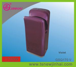 China Violet Brushless Motor ABS Jet Hand Dryer on sale