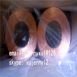 China Copper Coated Flat Stitching Wire on sale