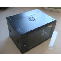 Wall Mount 6U Network Cabinet 1.2mm For Network Cabling CE Certificated