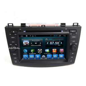China Mazda 5 GPS Navigation System Camera RDS with voice guide on sale
