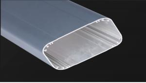 China Powder Spraying / Powder Coating Aluminium Extrusion Profiles with Chromizing Pretreatment on sale
