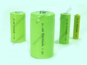 China Rechargeable AA NiMH Batteries,AA-size NiMH batteries with UL,REACH listed on sale