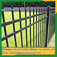 China Lake Darlot garden steel fence Home cheap wrought iron fence panels for sale on sale