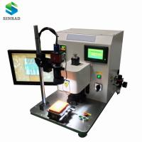 high precision soldering FFC FPC LVDS MINI SAS, high speed QSFP cable hot bar soldering machine