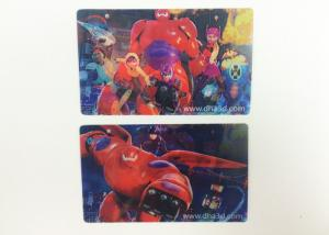 China Disney Fama Lenticular Printing Business Cards 0.38mm / 0.45mm / 0.58mm on sale