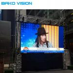 HD Stage Indoor Rental LED Display P3.91 P4.81 Front Access Advertising Screen