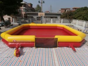 China Inflatable Bumper Ball Court / Bumper Ball Field For Sale on sale