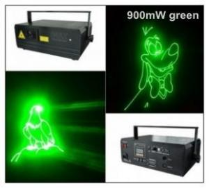 China 900mW Green Disco Laser Lights for Christmas Promotion  , Club on sale