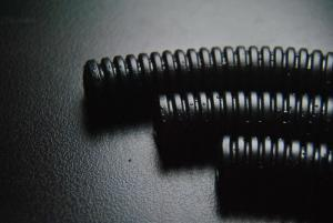 China Black Plastic Corrugated Tubing , PE Flexible Corrugated Sleeve China Supplier on sale