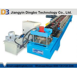 China 5.5kw Main Power Automatic Roller Shutter Door Roll Forming Machine on sale