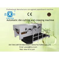 China Custom Paper Carton Folding Machine For Colored Boxes Of Cardboard / Paperboard on sale