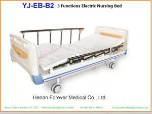 China Medical Used Comfortable 3 Function Electric Nursing Bed on sale