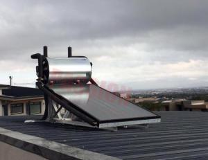 China Aluminium Alloy Flat Plate Solar Collector , Home Solar Water Heating System on sale