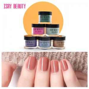 China 2020 fashion color dipping powder 4 bottle base colour organic dipping powder for nail dip powder nails 1000g on sale