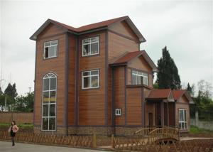 China Green Double Floor Prefabricated Modular Homes With Two Bedrooms Smart Design on sale