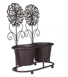 China Antique metal plant stand on sale