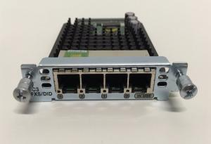 China VIC3-4FXS/DID Cisco Voice Interface Cards , Cisco 4 Port Ethernet Card Long Lifespan on sale