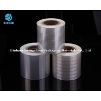 Holographic Transparent Metallized Shrink Film For Tobacco Cigarette / Medicine Box Packing