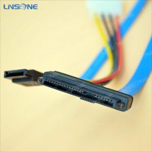 China SFF-8484 29PIN SAS TO SATA cable with advanced 4pin on sale