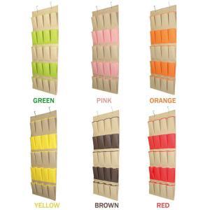 China 20 Pockets Storage Organizer Hanging Bag Door Wall Holder Shoe Hanger Organiser on sale