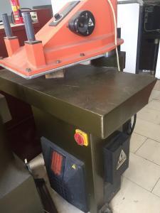 China Shoemaking 20T  ATOM Second hand Rebuild swing arm clicking cutting machine Пресс вырубочный гидравлический Атом on sale