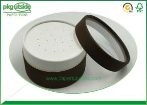 China Eco - Friendly Paper Cosmetic Containers Offset Printing Elegant Design Damp - Proof on sale