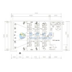 China Customized 4D cinema theater design drawing picture  small home plans for sale