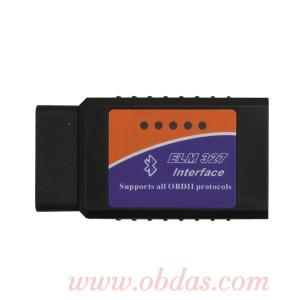 China OBD2 ELM327 Bluetooth CAN-BUS Scanner Tool on sale