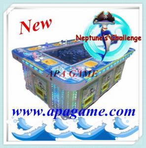 China 55 inch 10P Neptune's Challenge 1000 shoot fishing game machine on sale