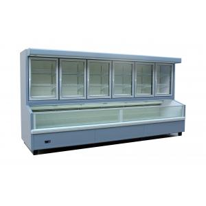 China R404A Combined Refrigerated Food Display Cabinets Ice Cream Display Freezer on sale