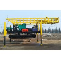 China Rotary Steel Crawler Chassis Water Drilling Rig With 5m Per Piece Drill Rod on sale