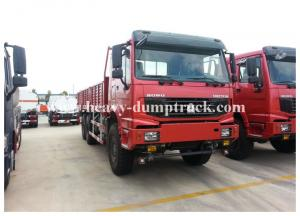 China Howo 4x4 Heavy Cargo Truck All Wheel Drive 266hp / 290hp with warranty on sale