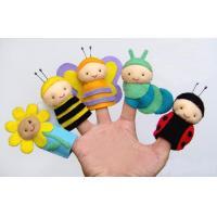 Garden Friends Felt Finger Puppets Plush Toys